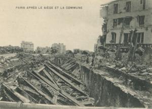 Paris commune Siège